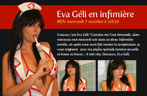 Show infirmière avec Eva Géli !