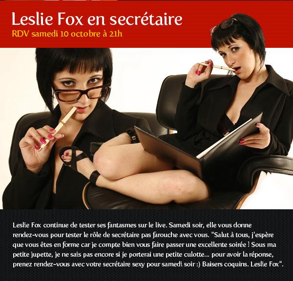 Show de secrétaire avec Leslie Fox !